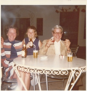 Move over Mad Men--its Margaret and Jerry in Spain. There are some really good stories from that trip (what is that smoke swirling above mom's head?!)